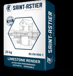 limestone render bag